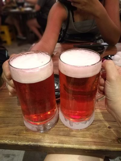 What a good taste!! Sakurabeer Beer - Alcohol Beer Glass Alcohol Food And Drink Drink Frothy Drink Craft Beer Brewery Adult Happy Hour Refreshment Indoors