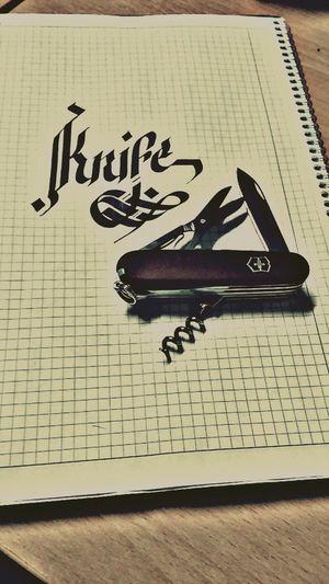 Farklı Olmak İyidir... First Eyeem Photo Kaligrafi Calligraffiti Calligraphy Calligraphie Calligraphic Calligraphy_look Calligraphyart Knife Army Life Army
