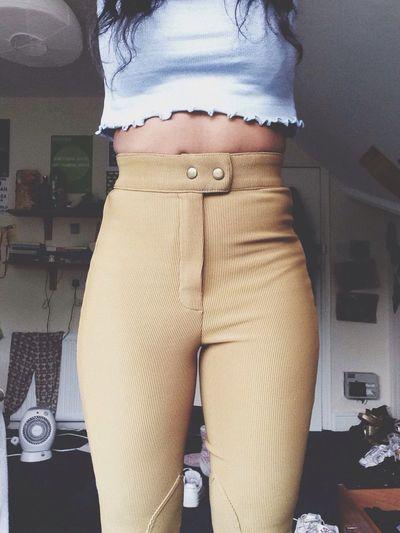 Riding pants giving me a waist Americanapparel Easyjean nTs Highwaist