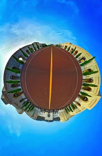 Tiny Planets 360 Panorama 360camera 360° Panoramic Views Blues & Greens Blue Sky Alternative View Samsung Gear 360 Muscat, Oman Beautiful Architecture Royal Palace Visit Oman