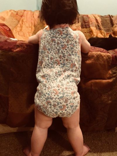 Standing tall StandingTALL Like4like Piperleigh Baby One Person Rear View Real People Leisure Activity Women Lifestyles Adult