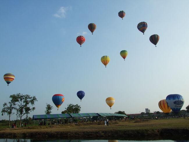 Balloon Ballooning Festival Flying Hot Air Balloon Outdoors Sky