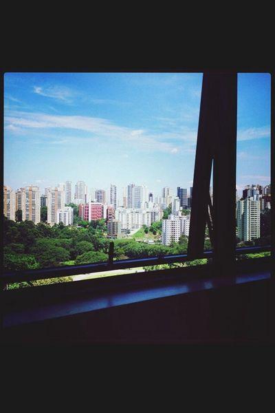 Skyline City Skyline Sky Today Good morning São Paulo, Brasil.
