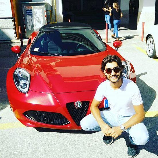 @alfaromeoofficial 4c Spider Alfa Romeo Happy UN Sogno Realta Fun Red Italy Lameccanicadelleemozioni Amazing Car Auto Targa Florio Tagheuer Beautiful Instaphoto Instafun Instapic