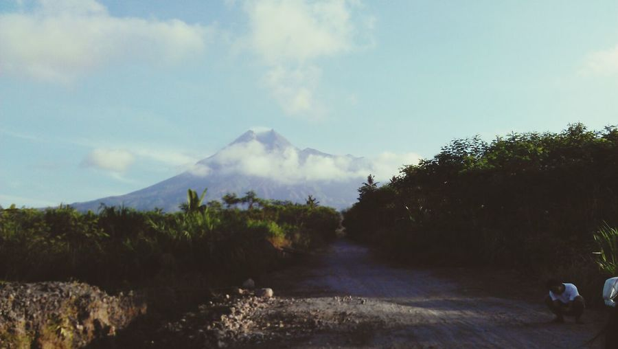 beauty of mt.merapi
