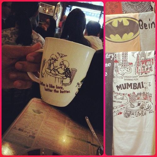 All true wisdom is found either on coffee mugs or tee shirts! Mumbai_instagrammers Instawalkcolaba