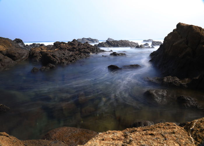 Hello World Japan Photography Tadaa Community Long Exposure Sea Sea And Sky Seascape Tanquility