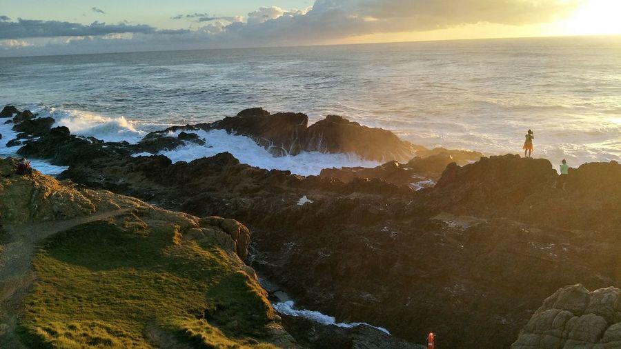 Water Sea Sunrise First Eyeem Photo