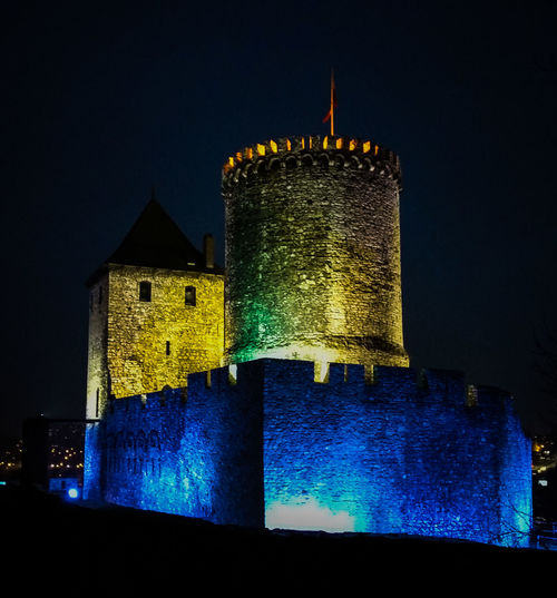 Building Exterior Built Structure Illuminated Medieval History Architecture Castle EyeEmNewHere