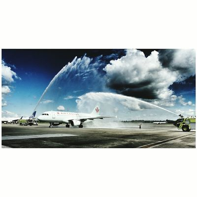 Air Canada, vuelo inaugural Panamá - Toronto. ✈💯 Airplane Travel
