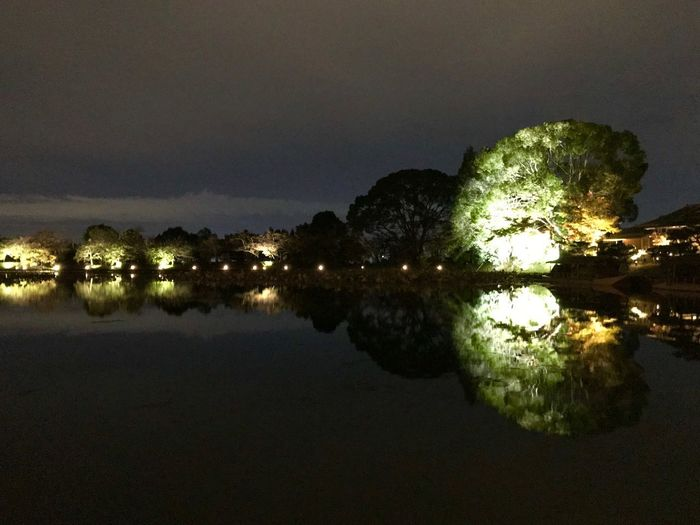 Water Sky Reflection Scenics - Nature Tranquility Beauty In Nature Night