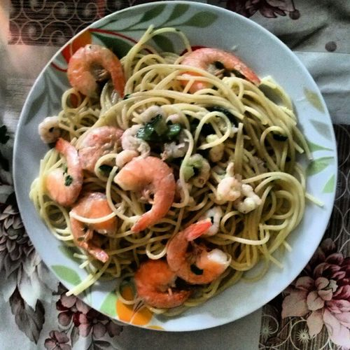 Duespaghetti Gamberi Zucchine Fooditaly