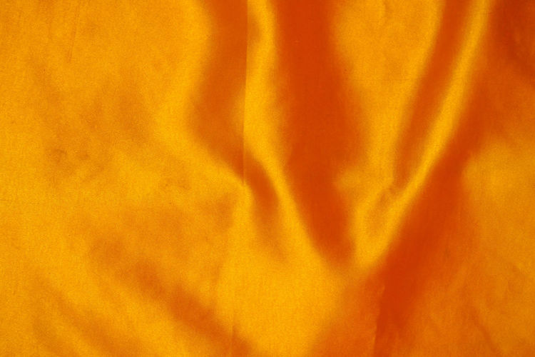Backgrounds Full Frame Textile No People Textured  Pattern Abstract Orange Color Crumpled Indoors  Yellow Close-up Rippled Folded Wrinkled Softness Bed Vibrant Color Sheet Abstract Backgrounds
