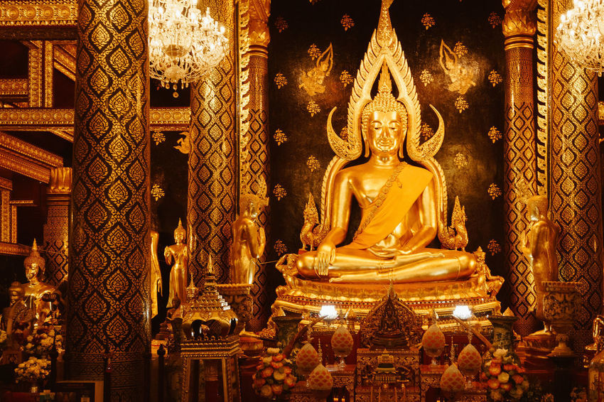 Belief Religion Spirituality Statue Sculpture Art And Craft Human Representation Representation Male Likeness Gold Colored Place Of Worship Built Structure Architecture Building Creativity No People Gold Idol Ornate Gilded Altar