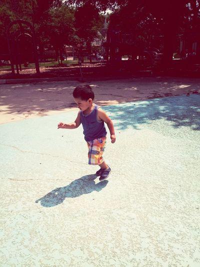 Playground Playing