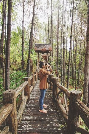North Of Thailand Binoculars Camera Great Outdoors Green Woman Asian Girl Relaxing Hobby Forest Activity Take A Photo Photographer Photography Bird Watching Hidden Gems  Ecotourism Park Eyeemphoto My Favorite Place