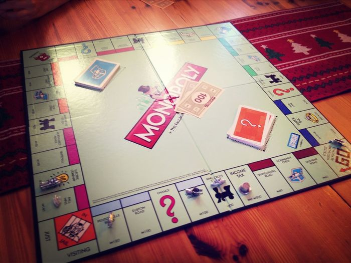 Annual Christmas Eve monopoly game