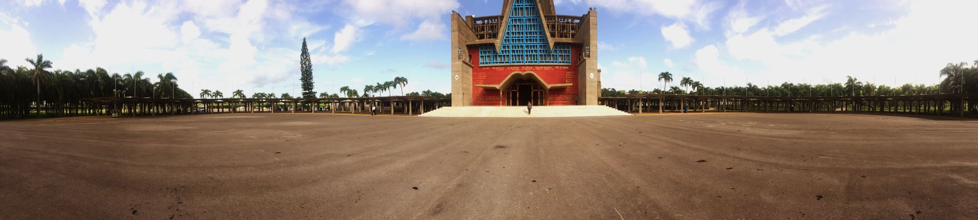 Panoramic Photography Basilica Higuey