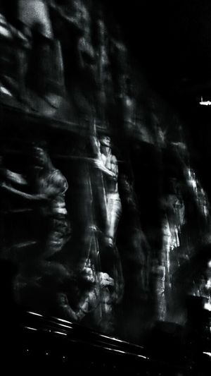Abercrombie & Fitch  Black And White Collection  Blury Pic Art Photography