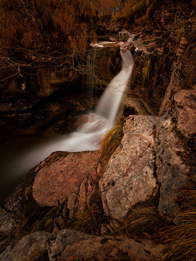 Belluno Cool Italia Alpago Beauty In Nature Blurred Motion Day Forest Italy Long Exposure Motion Nature No People Outdoors Power In Nature Rock - Object Scenics Tranquil Scene Tranquility Tree Veneto Water Waterfall