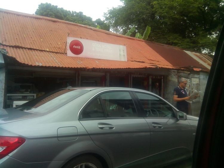 Very old shop which will be demolished very soon Gool Mauritius Beau Bassin
