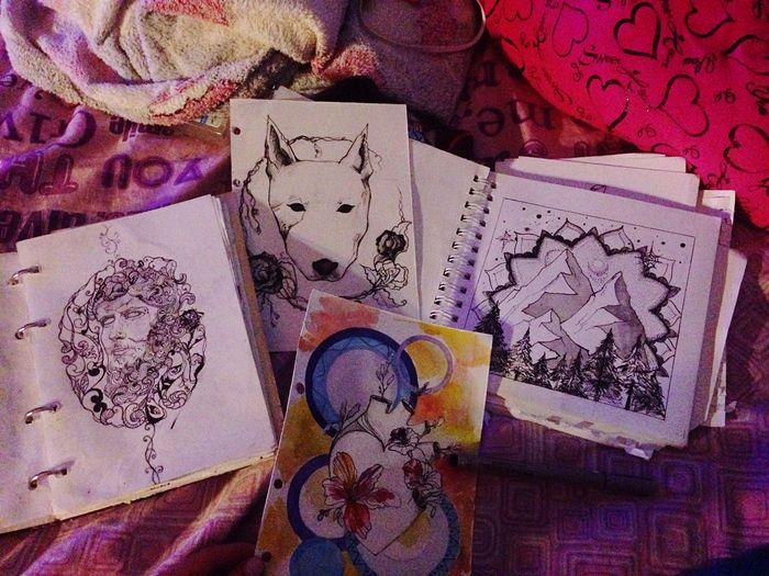 Sketch Tattoo Drawings Drawing OpenEdit Night