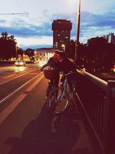 Tbt Claribirthday💕 Hello World Jamys Burger Enjoying Life BikeNight