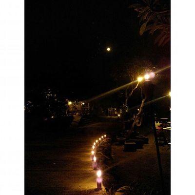 Fullmoon and Simple Night Light Nightview at Kampunglumbung Kotabatu INDONESIA PwC Lenovotography Photooftheday Pocketphotography Photostory Lzybstrd Cahaya Malam Purnama Sederhanaituindah