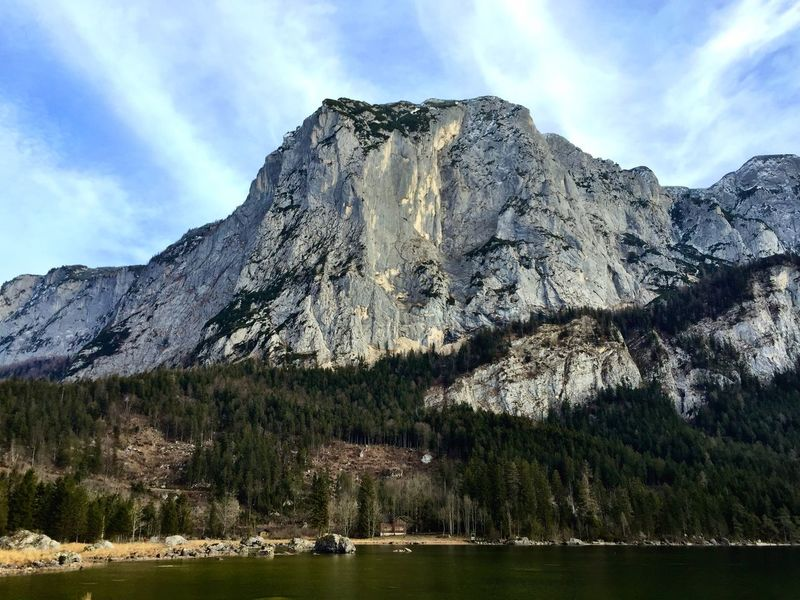 Altaussee Austria Austrianphotographers Nature_collection Beautiful Nature Sea View Wintertime Sunny Day Sea And Sky