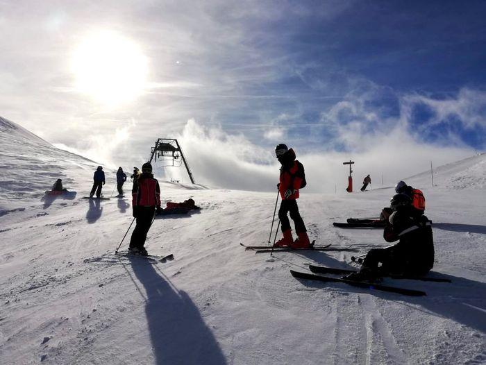 Ski day Sky