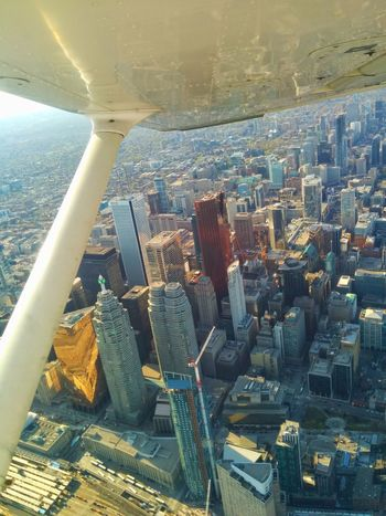 From An Airplane Window Cityscape City Aerial View Airplane Urban Skyline Architecture Outdoors Cityscape From Above.. Sunset Flying Aircraft Wing Quality Time Taking Photos Brautiful View Check This Out Enjoying Life Hello World Mobility In Mega Cities