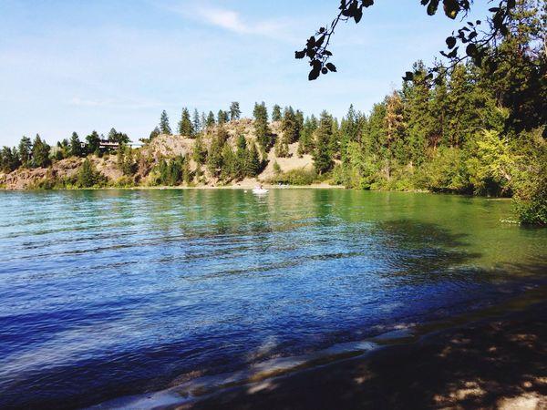 Kalamalkalake Okanagan Summer Green Lake Vernon British Columbia Canada