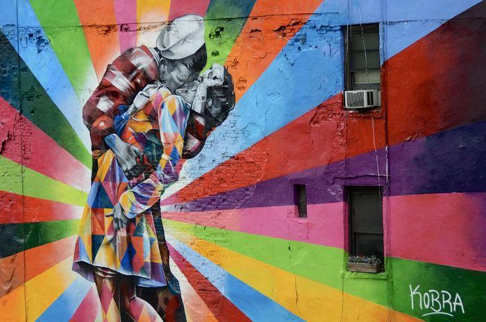 New York City - Manhattan - Great wall painting by Eduardo Kobra Art Big Apple Colorful Eduardo Kobra Manhattan New York New York City Nikon NYC Streetart Tourism Traveling Travelphotography USA