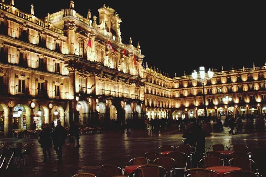 Salamanca, Castilla Leon, España Nocturna Plaza Mayor Summer Night Always Miss You Salamanca Spain ✈️🇪🇸