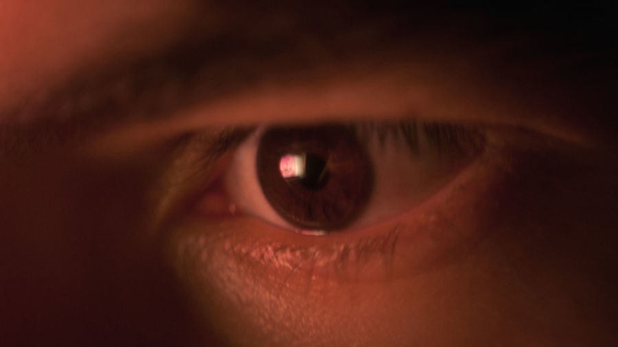 Cinematic Close-up Eyeball Human Body Part Human Eye Looking At Camera One Person People Split