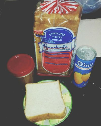 a snack before going to bed. Gradenia Ginajuice Peanutbutter