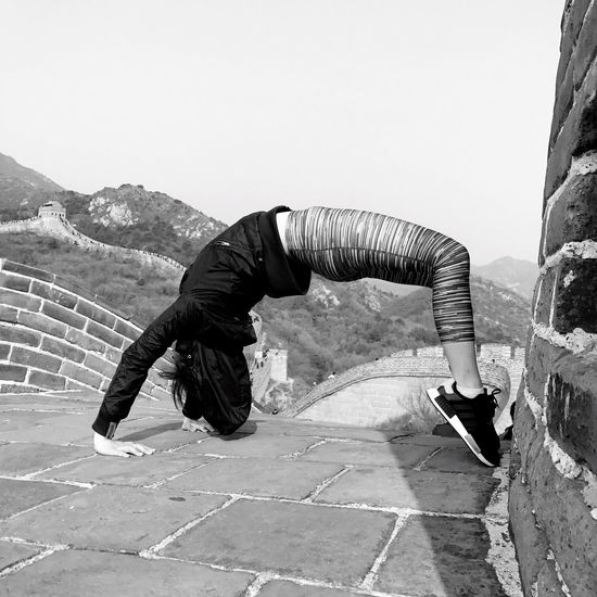 Mountain Greatwall Greatwallofchina Beijing Beijing, China Outdoors Adidas Adidasnmd AdidasNMDColourways Badaling Wheel Pose Yoga Yoga Pose BEIJING北京CHINA中国BEAUTY BEIJING 北京 Beijing Scenes