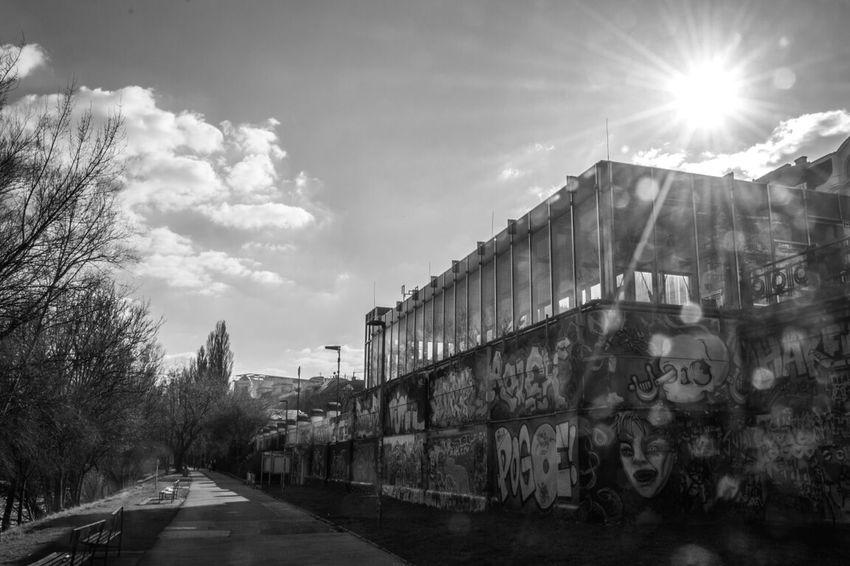 donaukanal, vienna Vienna Donaukanal Monochrome Black & White