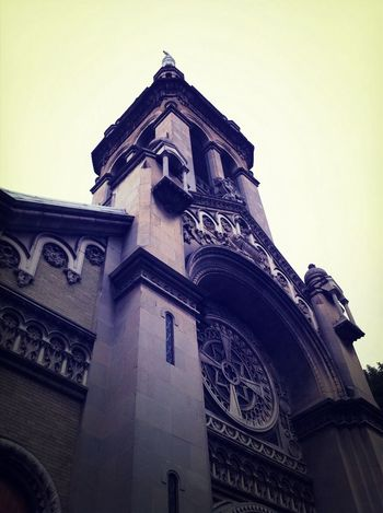 Fachada de la Sagrada Familia. Old Churchs Catholicism ColoniaRoma