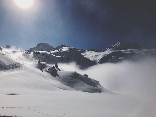 Powder Snow Swiss Alps Valais Valdanniviers Grimentz Zinal Snow Winter Beauty In Nature Mountain Nature Outdoors Go Higher The Great Outdoors - 2018 EyeEm Awards