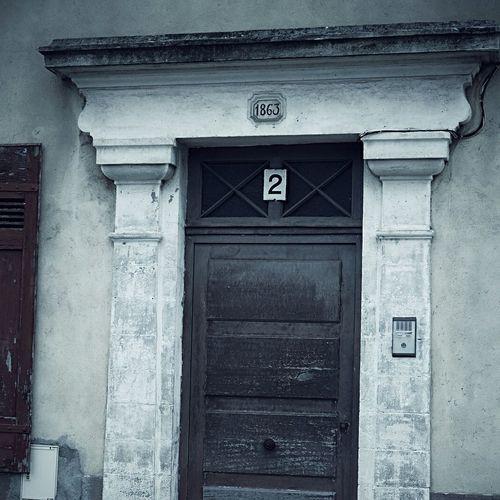 The old door...