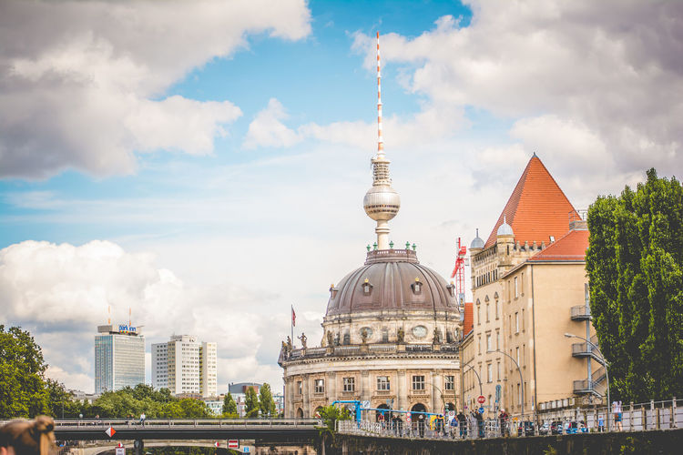 Berlin Berlin Photography Architecture Building Exterior Built Structure City Cloud - Sky Day Dome Large Group Of People Outdoors People Real People Sky Travel Travel Destinations