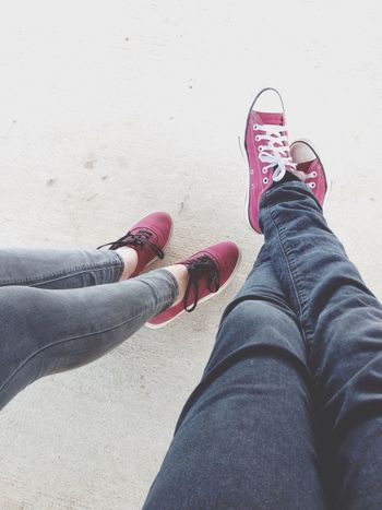 Shoes Converse Vans Burgundy