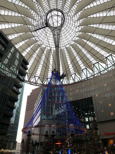 Architecture Built Structure Low Angle View Decoration Pattern Modern Building Exterior Ceiling City No People Tree Building Day Illuminated Arts Culture And Entertainment Travel Destinations Nature Hanging Skyscraper
