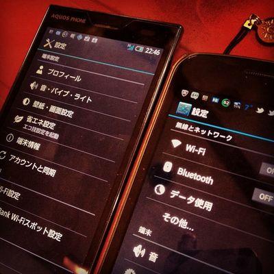 Android 4.0しか使いたくなぃ♪ 104sh Galaxynexus  Androidjp Owataris