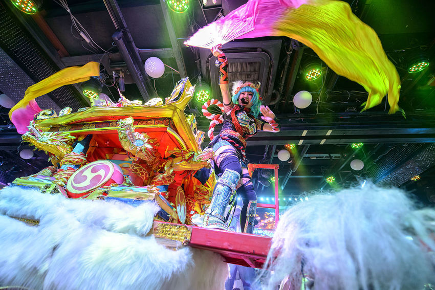 Performance at the Robot Restaurant Adult Adults Only Colorful Colourful Dance Fun Indoors  Kabukicho Large Group Of People Music Performance Performer  Performing Arts Event Robot Restaurant Shinjuku Stage - Performance Space Stage Light