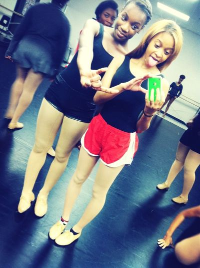 In Dance Class With My 2nd Bestie!!