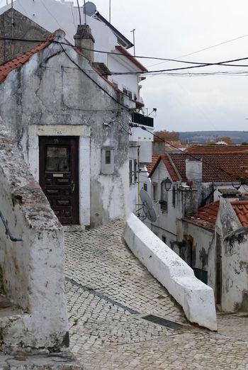 Old City Portugal Alcacer Do Sal Architecture Building Day Nature Residential District Old House