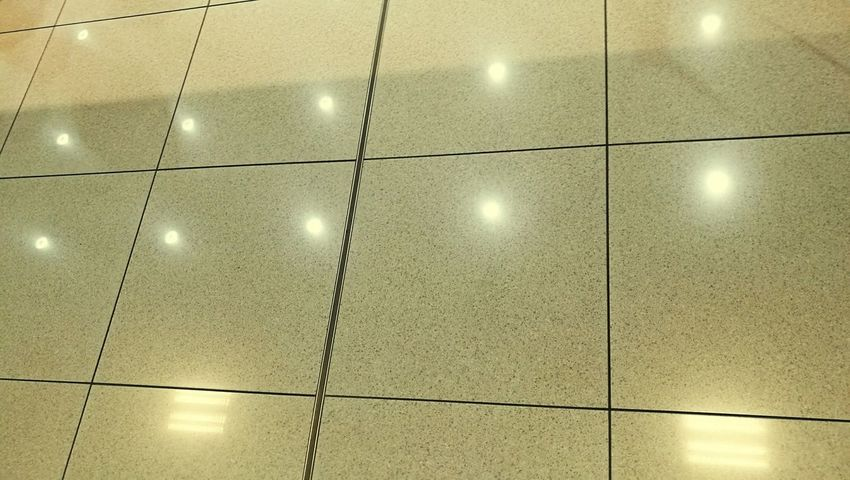 Illuminated Indoors  No People Low Angle View Tile