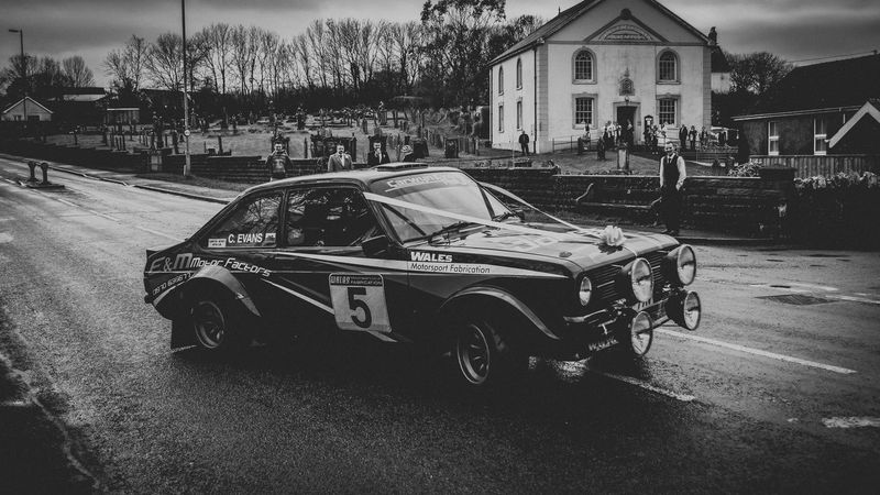 Rally Car Rally 2016 Escortmk2 Cars